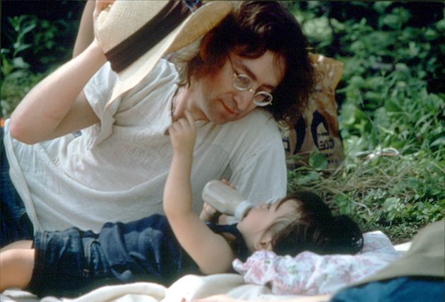 MY DADDY IS BEAUTIFUL by Yoko Ono. A tribute to all Fathers of the World from each of your children