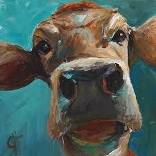 Image result for cow face paintings
