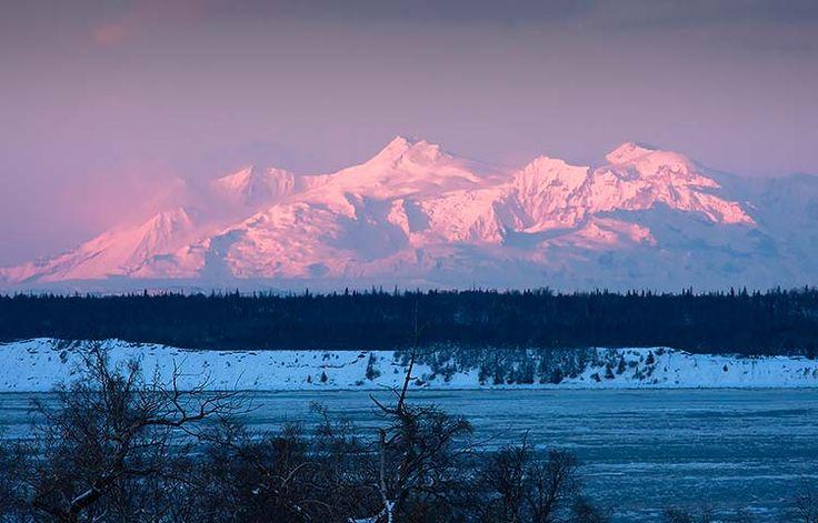 Winter Sunrise in Anchorage, Alaska (Daily Photo) Livin