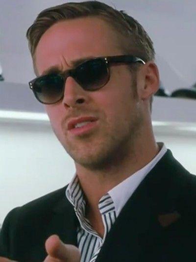 Découvrez les lunettes de Ryan Gosling dans Crazy, Stupid, Love. par @SeenOnYou