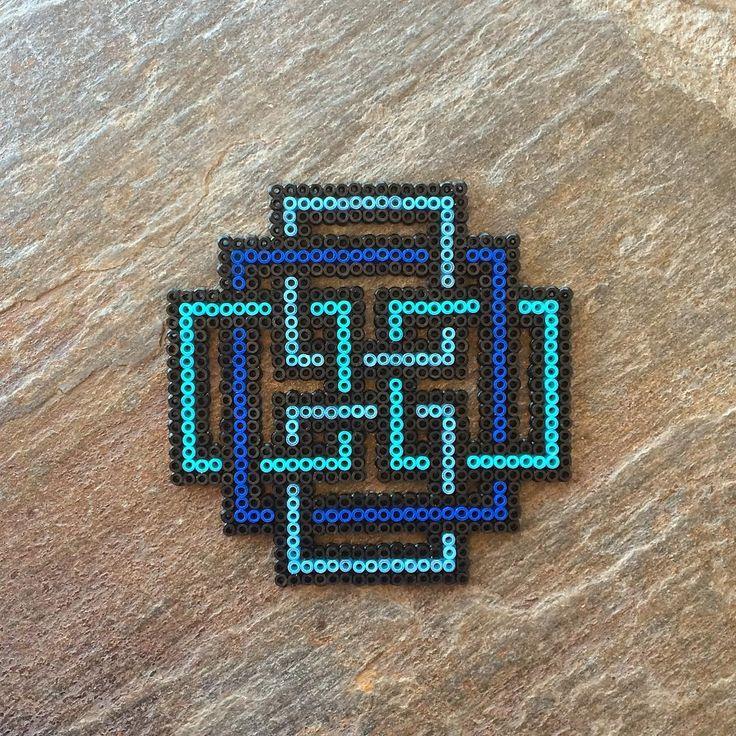 Maze design hama beads by dearrobinshop