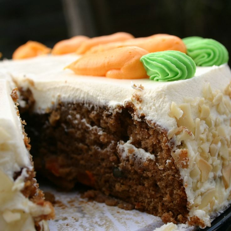 This Molasses Carrot Cake Recipe Is Yet Another Adapataton