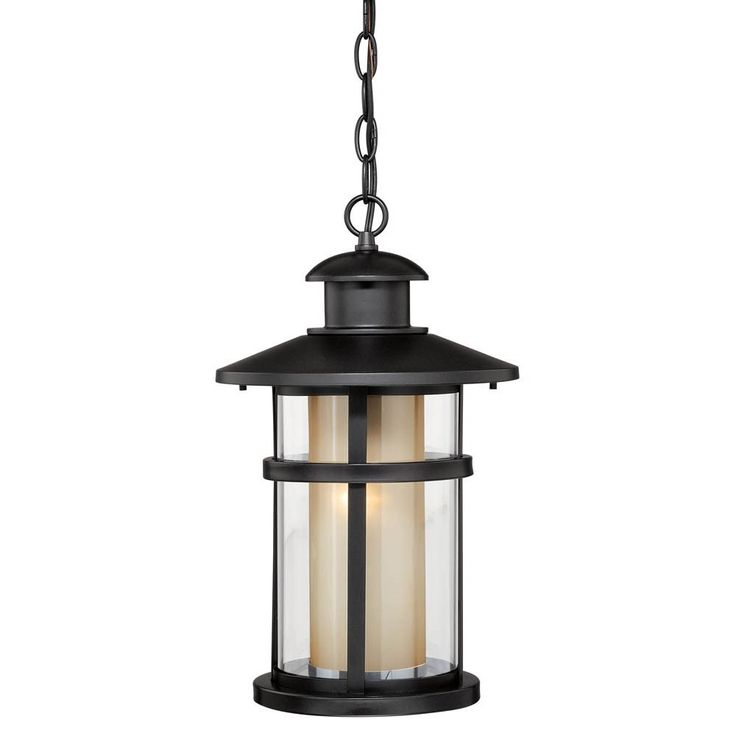 Vaxcel Lighting T0138 Cadiz 10 1 Light Outdoor Pendant In Oil Burnished Bronze