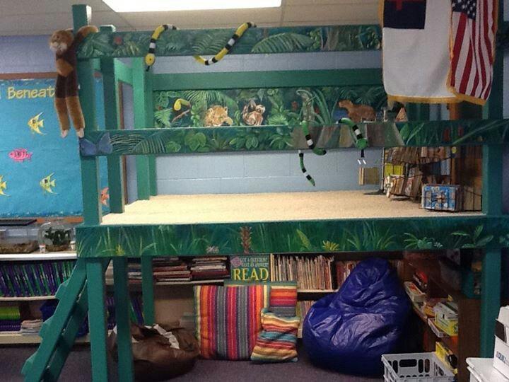 Classroom Loft Ideas : Reading loft school ideas general pinterest