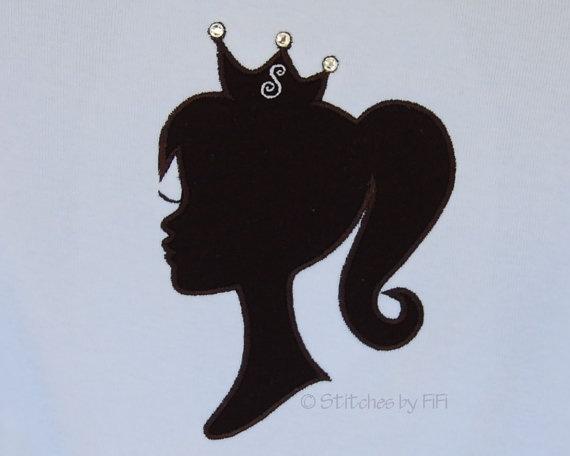 Princess silhouette in fashion