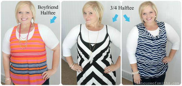 Halftee layering shirts. at www.ShopSilkRoad.com