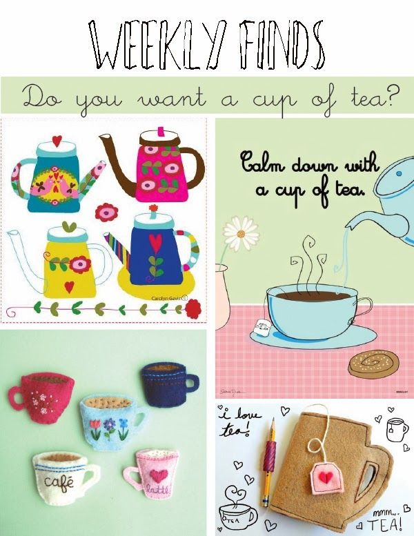 madebyeleonora:  Weekly finds: DO YOU WANT A CUP OF TEA? http://madebyeleonora.blogspot.it/2014/02/weekly-finds-do-you-want-cup-of-tea.html