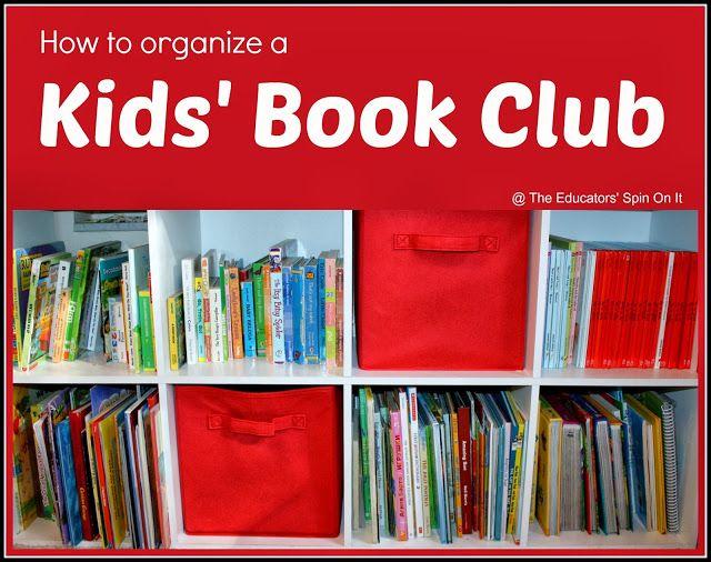 How to Organize a Kids Book Club