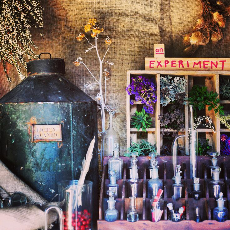 #apothecary #vintagestyle #lavender #purple #herbs #bottles #medicinebottles