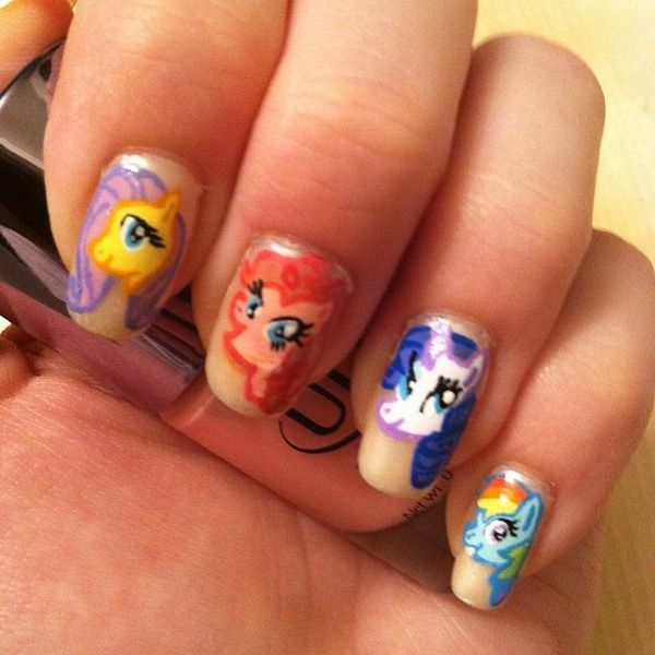 MLP Nail Art