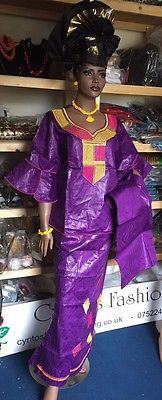African clothes, Eru and Bouba Senegalese's Style,  top and a wrapper Skirt