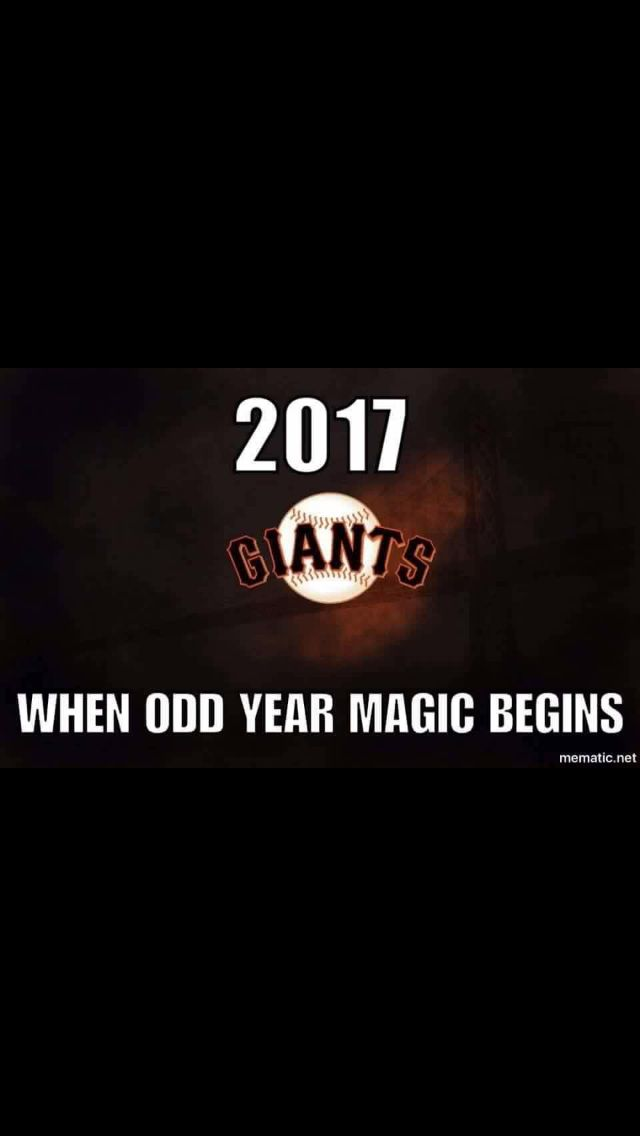Looking forward to an odd year SF Giants