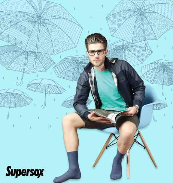 It's raining men's socks on www.supersox.in .