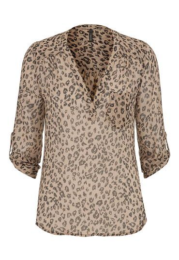 the perfect blouse in animal print (original price, $29) available at #Maurices