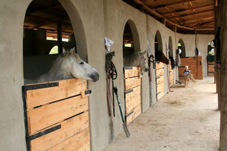 What a nice look for an AZ barn!