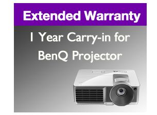 1 Year Carry-In Extended Warranty for BenQ Projector W7xx Series: 1 Year Carry-In Extended… #Projectors #LCDMonitors #DigitalSignage