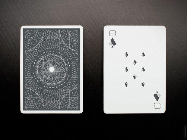 Design, fanangled, cards