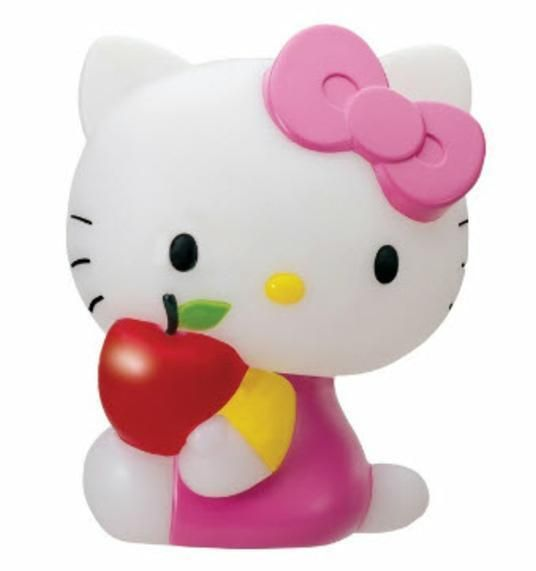 Hello Kitty Battery Operated 7 Color Changing LED Mood Lamp #HelloKitty
