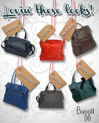 Go crazy with colour and style with these trendy bags!