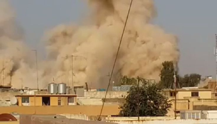 ISIS Blows Up Muslim Shrine With Biblical Prophet Jonah's Tomb 'to Dust' Because it Had Become a Place of Apostasy.