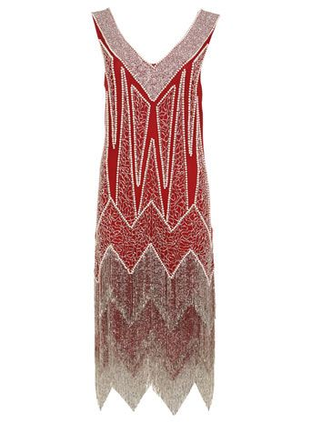1920's Style Red Dresses: From flapper dresses to Gatsby dresses