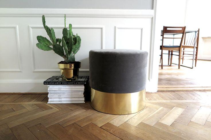 DIY: Velvet Stool step by step guide at Metro Mode Home.