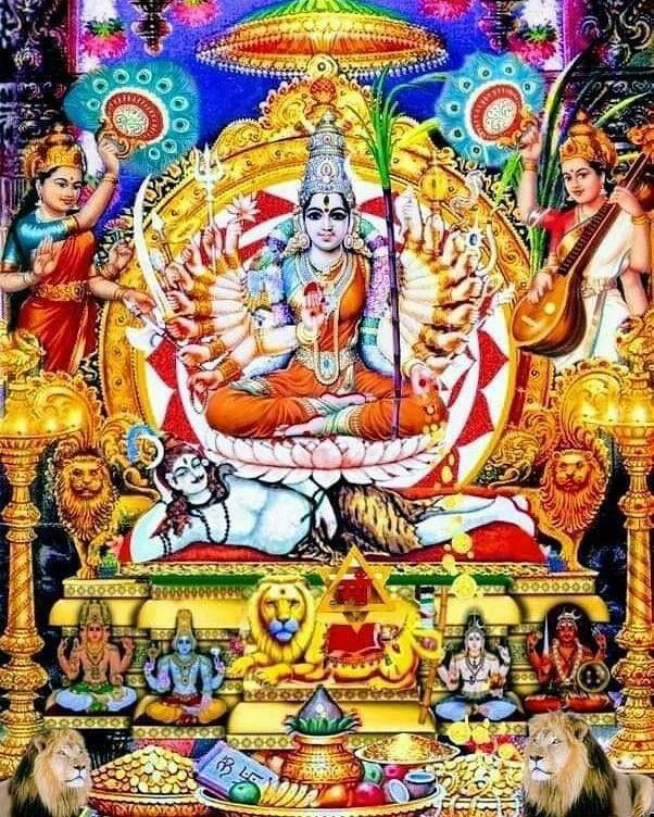 Lalita Maa | Durga goddess, Hindu deities, Hindu statues