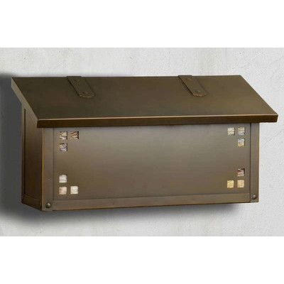 finest mailboxes horizontal wall mounted mailbox mount with numbers dark bronze ideas