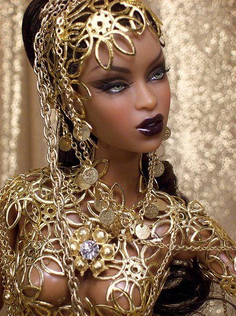 Fashion Royalty GoldStroke styled by adelelvr