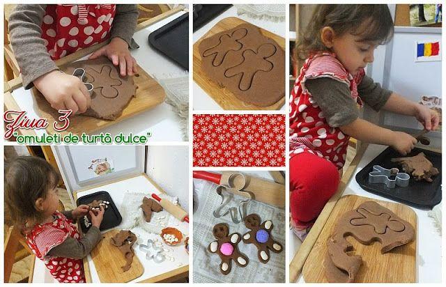 Invitatie la joaca: omuleti de turta dulce - Calendar de Advent ziua 3 - Clipe Frumoase cu Ema