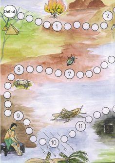 jeu de dés sur la sortie du pays d'Egypte et les 10 plaies