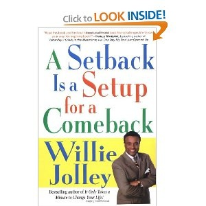 A Setback is a Setup for a Comeback - One of the best motivational books that I have read!