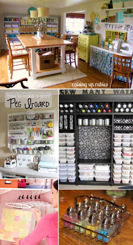 'Craft Room Organization...!' (via Think Crafts by CreateForLess)