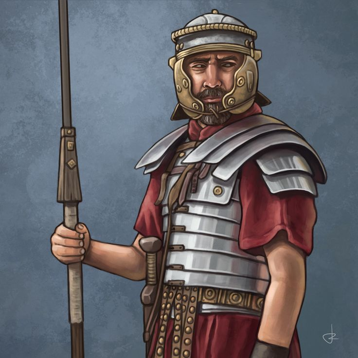 Roman legionary by Rubén Megido Sanchez