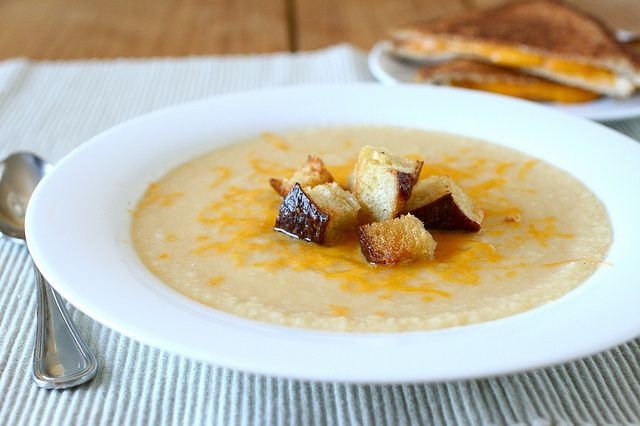 Creamy Cauliflower Soup | Eat and Sip | Pinterest