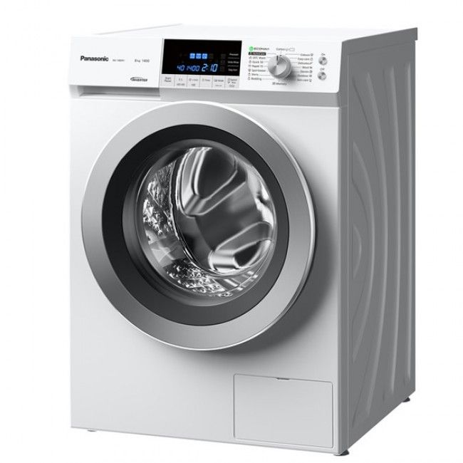 Panasonic NA148XS1WGB 1400rpm Washing Machine 8kg Load Class A+++ Steam  #Panasonic #NA148XS1WGB #WashingMachine #AtlanticElectrics