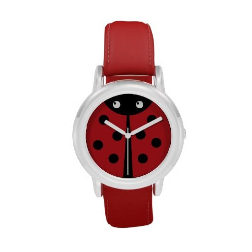 Ladybug Kids Red Wrist Watch