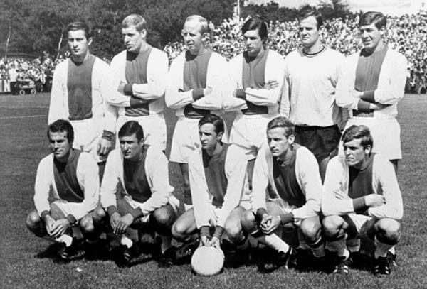 Ajax Amsterdam Squad 1969