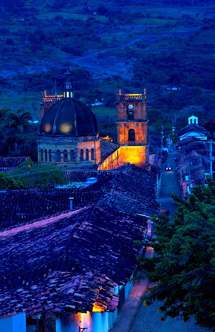 Colombia, Barichara, 18th Century Cathedral de la Concepcion, Spanish Colonial, Town Declared A National Monument | By Anthony John Coletti Photography