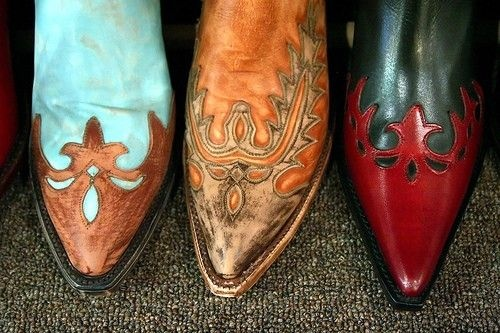 gypsy style western boots