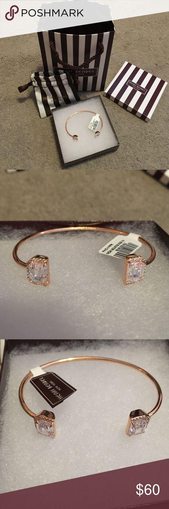 NWT Half Moon Henri Bendel Bracelet New with tags! Half Moon Henri Bendel Bracelet henri bendel Jewelry Bracelets