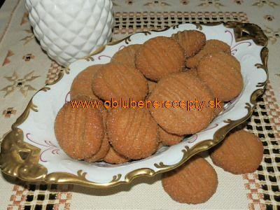 Medovo - zázvorové keksíky