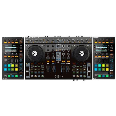 Native Instruments Traktor Kontrol S4 MK2 with The Traktor Kontrol S4 is ultra-intuitive and all-in-one 4-deck DJ system for Traktor Pro 2 and Traktor DJ. All you need to start mixing the Kontrol S4 mkII contains the flagship Traktor Pro 2 softwar http://www.MightGet.com/january-2017-11/native-instruments-traktor-kontrol-s4-mk2-with.asp