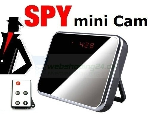 HD Spy Cam Wecker mit Bewegungsmelder