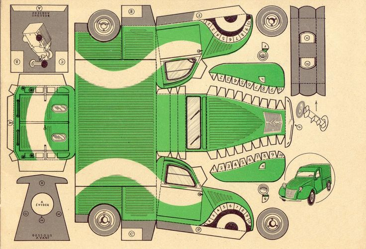 Citröen 2 CV - My very first car was a green 2 CV 6 and I was very proud of it
