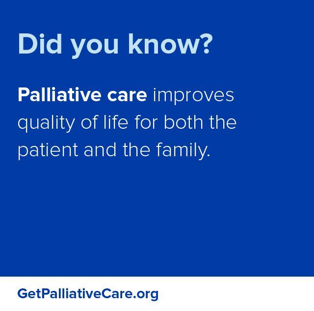 C P mejora calidad de vida de paciente y familia