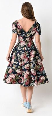Swing Dresses - Vintage 50s Dresses for Sale | Unique Vintage