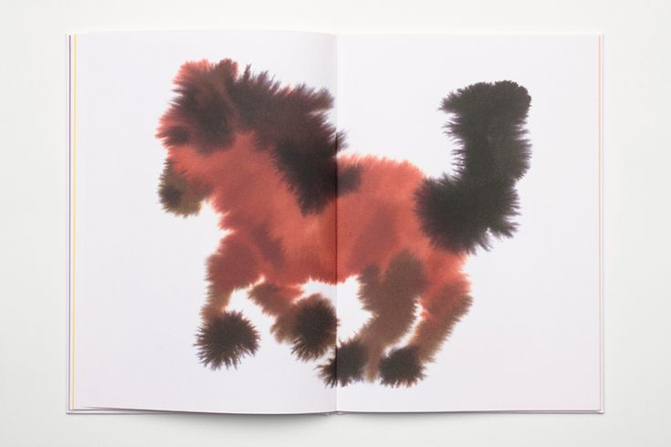 some logic by rop van mierlo depicts amorphous animal paintings