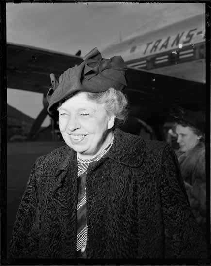 1949: Eleanor Roosevelt visits Vancouver