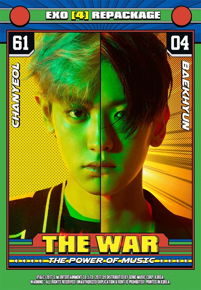 chanyeol x baekhyun the war: the power of music repackage teaser